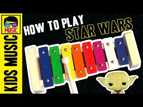 How to Play STAR WARS Theme Song on the Xylophone | Learn Xylophone Music for Beginners