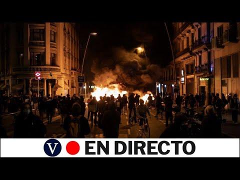 DIRECTO: Cuarta noche de protestas tras el encarcelamiento de Pablo Hasél