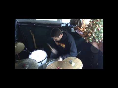 Six Feet Under - Piranha (Exodus cover ) drum cover