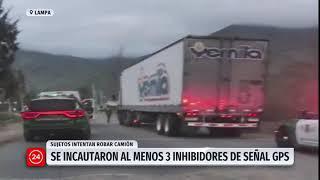 Delincuentes intentaron robar camión de huevos en Lampa