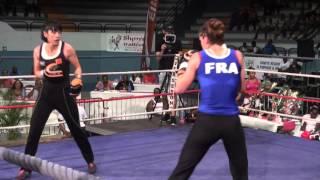 Cyrielle GIRODIAS Finale championnat du monde féminin boxe savate 2015