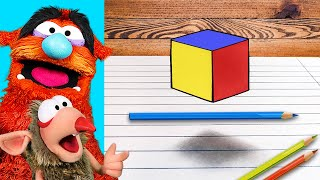 EXTREME 3D ILLUSIONS to Test Your Brain!