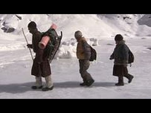 Human Planet | Mountains: The most dangerous school run in the world | Sundays,  7.30pm, ABC1