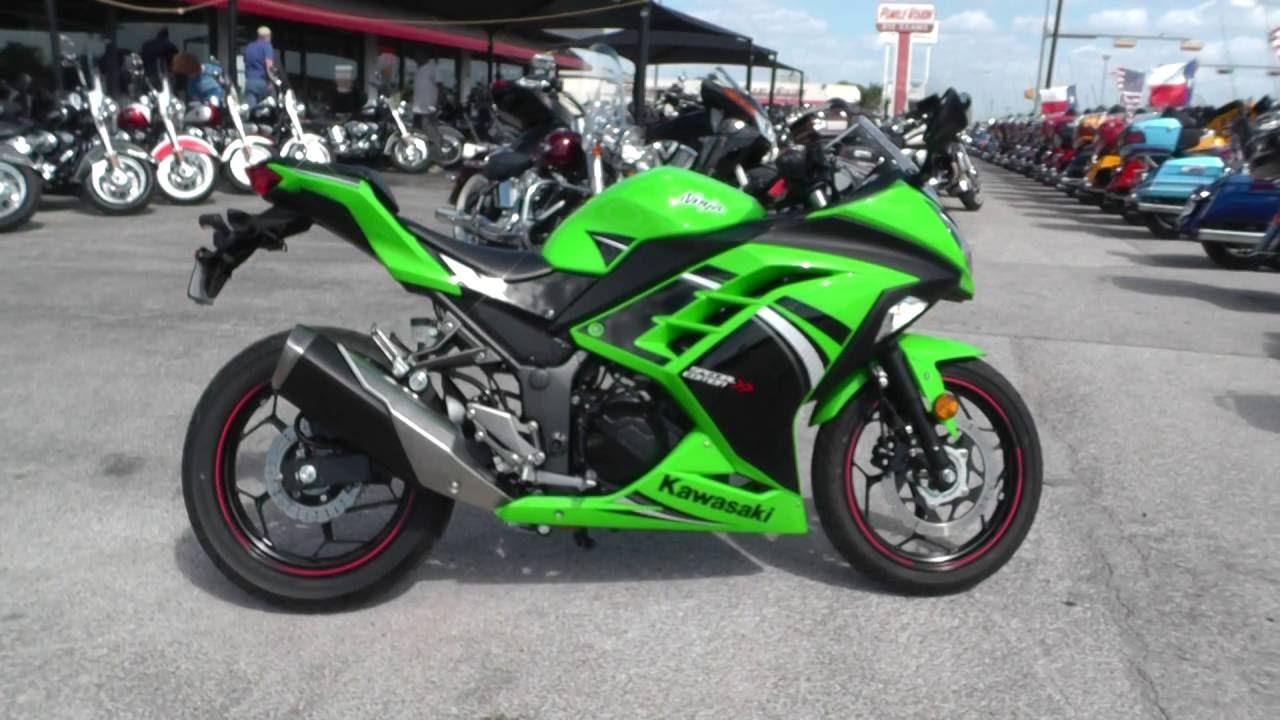 002961 2014 kawasaki ninja 300 ex300se used motorcycles for sale youtube. Black Bedroom Furniture Sets. Home Design Ideas