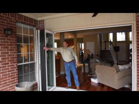 American Window Systems Folding Door Demonstration