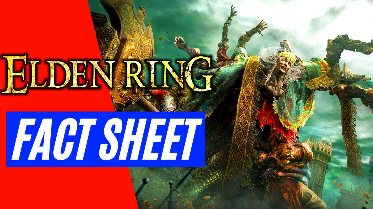 Elden Ring FACT SHEET DETAILS GAMEPLAY TRAILER REVEAL NEWS   PS5, PS4, XBOX Series X-S, PC エルデンリング