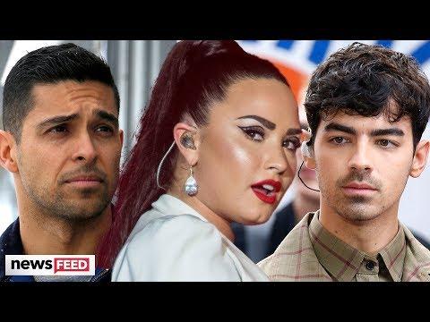 Demi Lovato Throwing SHADE At Ex-Boyfriends!