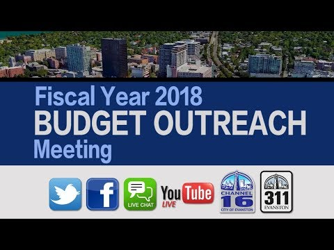 Fiscal Year 2018 Budget Outreach Meeting