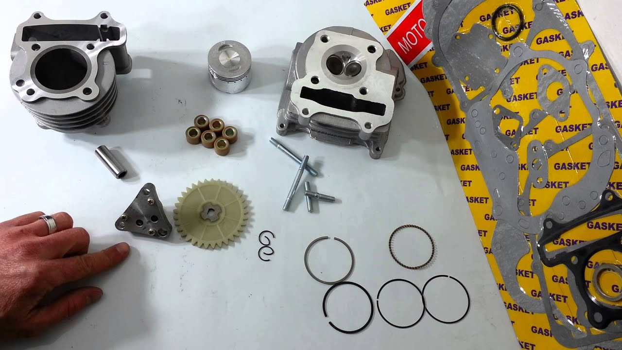 Chinese scooter 80cc Stage 1 big bore kit (qmb139)