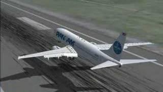 Landing in Frankfurt (FS2004)