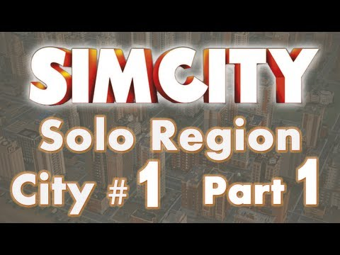 SimCity Solo Let's Play City #1 Oil/Ultilities Part 1