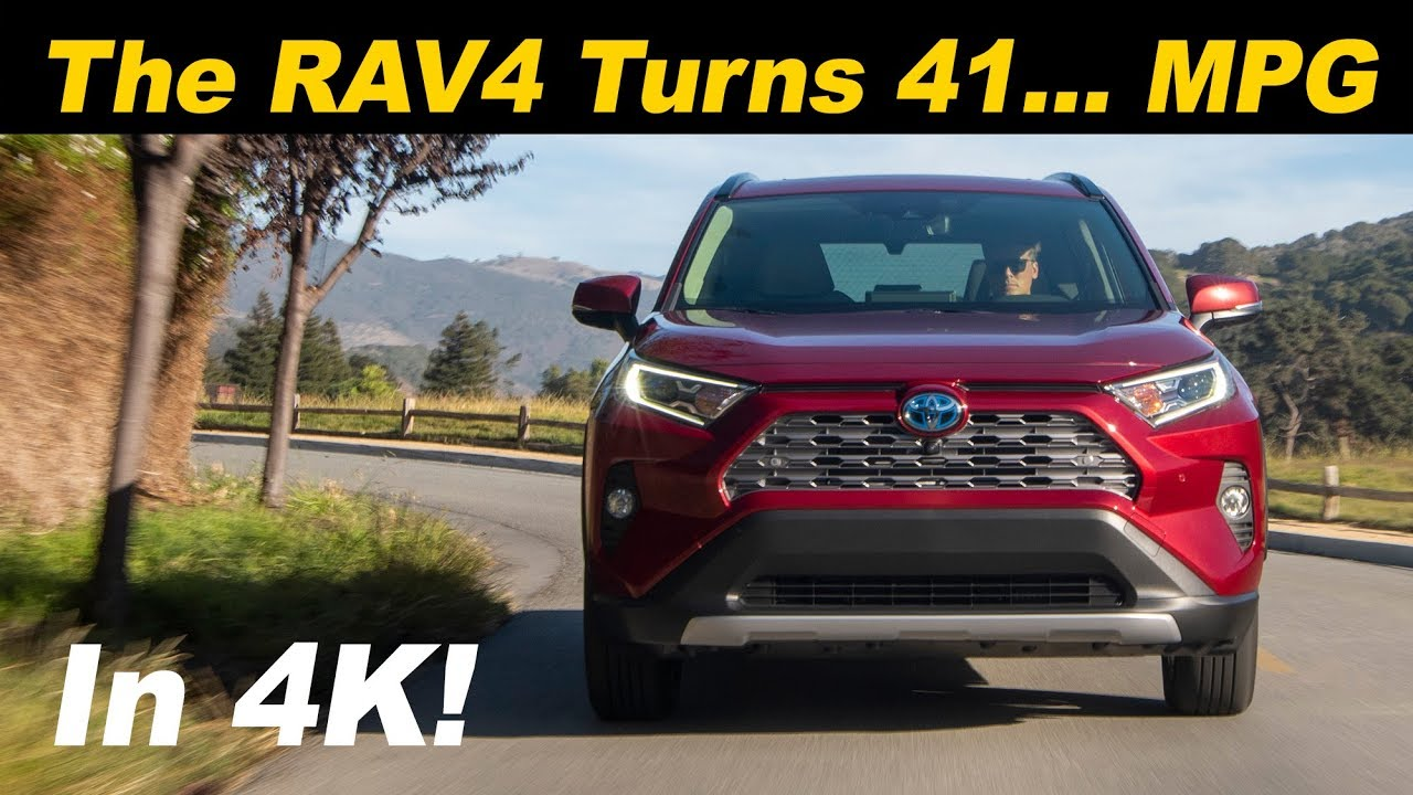 2019 Toyota Rav4 Hybrid The Fuel Sipping Cuv Youtube