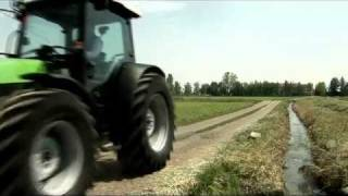 Deutz - Fahr Agrofarm TTV 420 / 430   -   Werbe Video (2/9) ......................Oeni