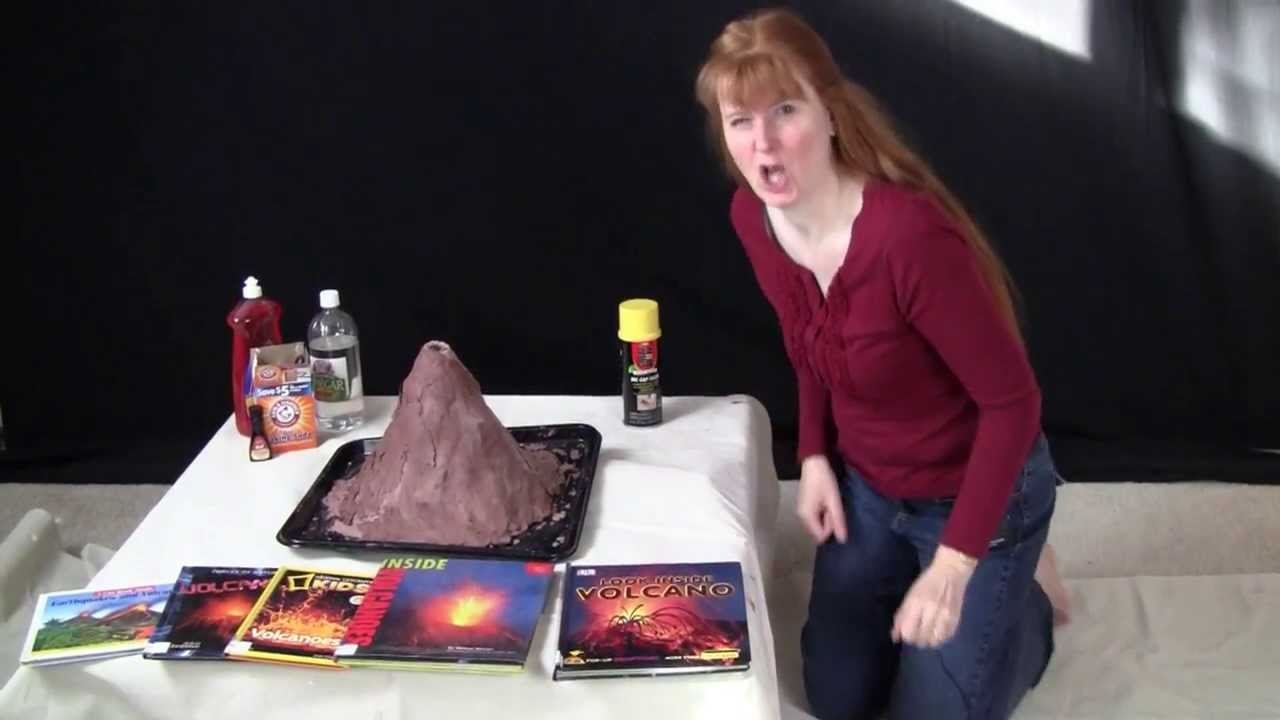 Make Your Own Volcano - YouTube