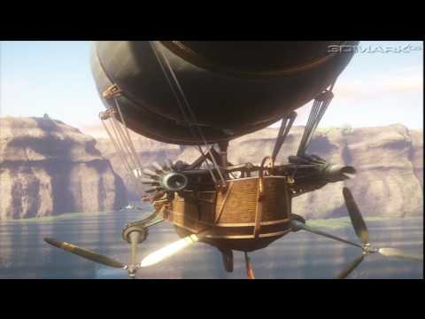 3D Mark 06 - Graphics Test 1 - Canyon Flight (HD)