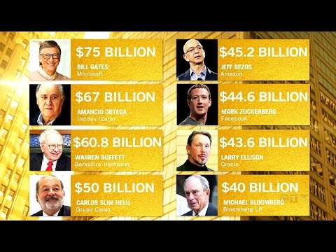 8 billionaires as rich as half of world combined: Oxfam