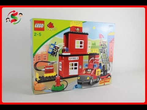Lego Duplo Fire Station 4664 Youtube