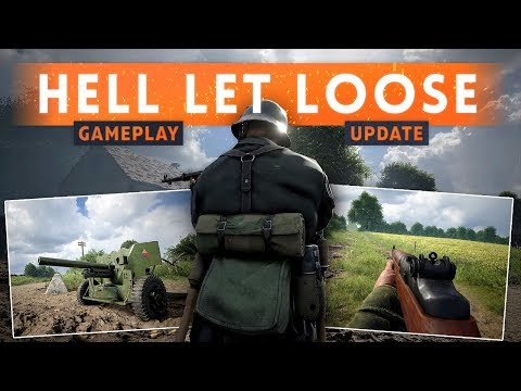 ► INFANTRY GAMEPLAY REVEAL! - Hell Let Loose Update (Authentic WW2 FPS)