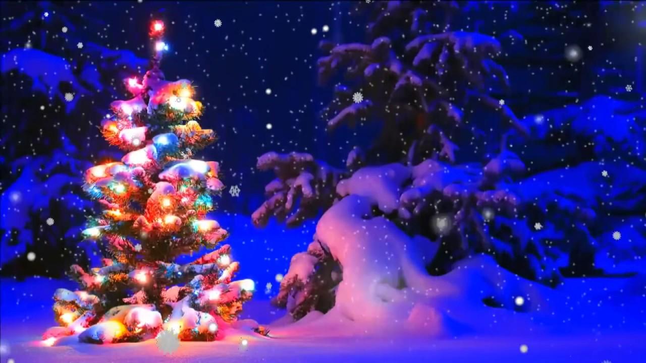 Новогодняя елка анимация YouTube