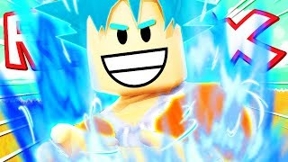 BATTAGLIA EPICA CONTRO GOKU SUPER SAIYAN BLUE!! | Dragon Ball Super su Roblox ITA (Roleplay)