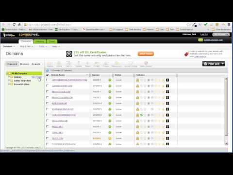 Howto assign domain permissions to an Account Administrator on Godaddy