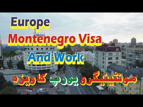 Montenegro Visit Visa | Montenegro Visa Process Pakistani/Indian.