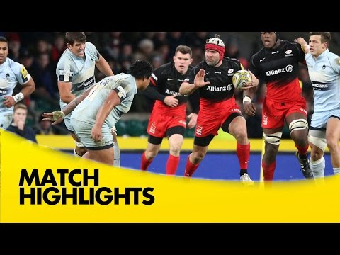 Saracens Vs Worcester Warriors  - Aviva Premiership 2015/16 | Rugby Video Highlights