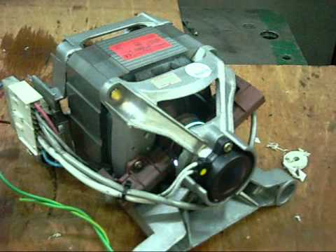 Wiring and Testing Welling Universal AC Appliance Motor - YouTube