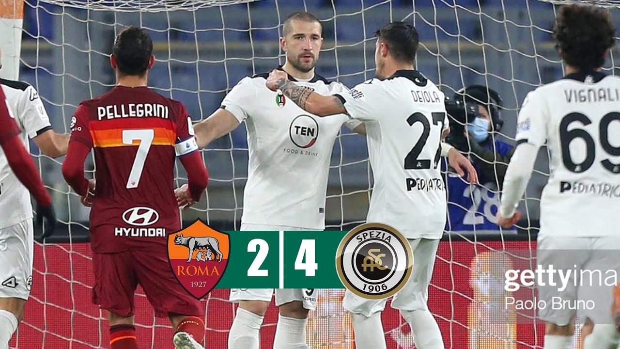 Download Roma vs Spezia 2-4 All Goals & Highlights 19/01/2021 HD