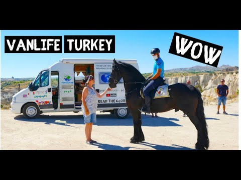 VAN LIFE TURKEY   A GREAT day out exploring Cappadocia