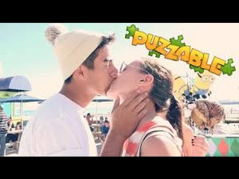 How to Kiss a Girl in 10 Seconds - besos faciles kissing prank 2015