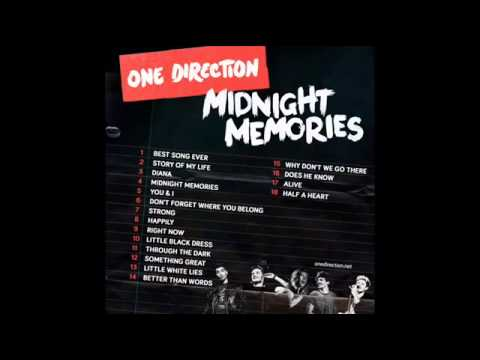 One Direction   Midnight Memories Full Album