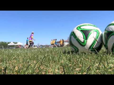 Fort St. John charity soccer tournament provides a service dog to a 4-year old Autistic boy