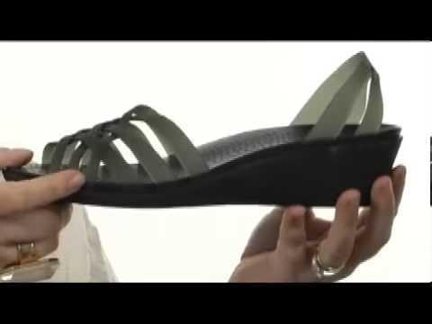 75361be4570e Crocs Huarache Mini Wedge SKU  8082206 - YouTube