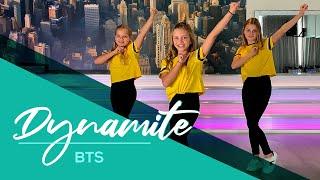 BTS (방탄소년단) Dynamite - Eąsy Kids Dance Video - Choreography - Baile - Coreografia