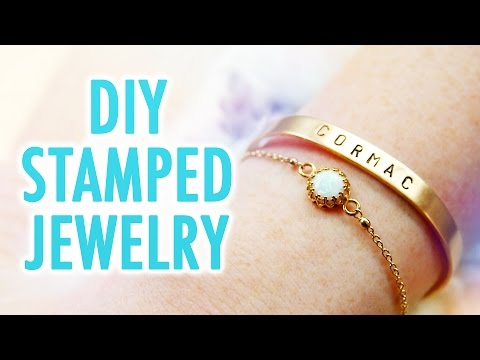 DIY Stamped Jewelry - HGTV Handmade