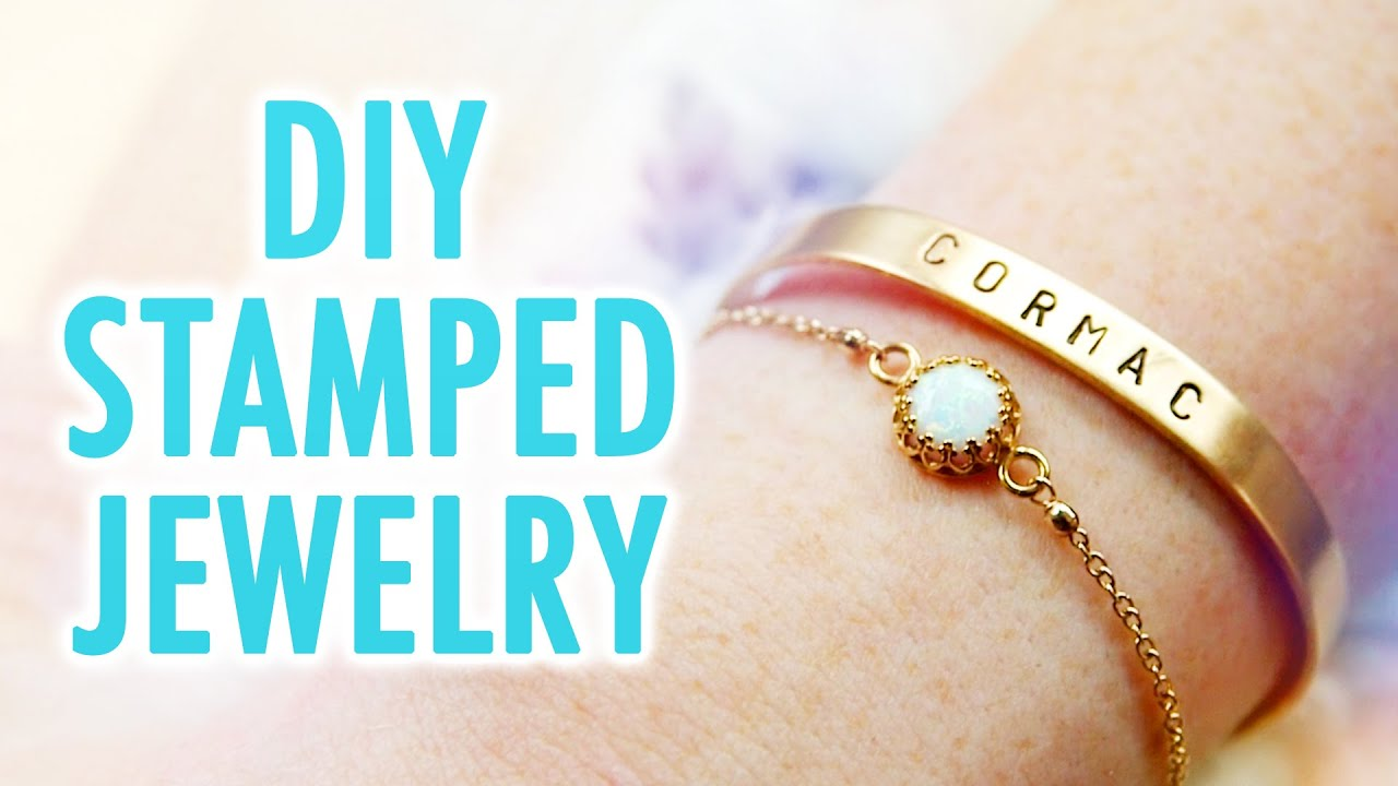 DIY Stamped Jewelry – HGTV Handmade