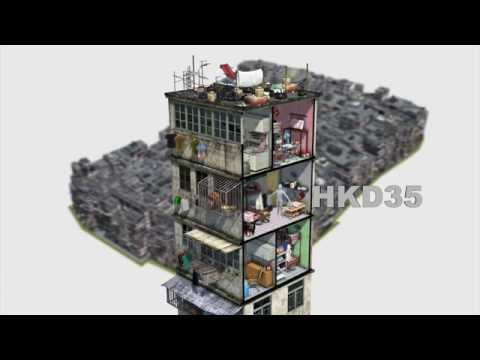 Hong Kong's infamous Kowloon Walled City: a 3D reconstruction of the densest city on Earth