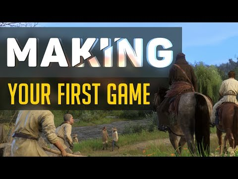 How to make your First Game! (Getting Started, Bored of ideas, Money, & MORE!)
