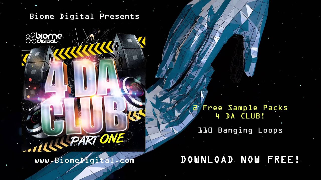 FREE EDM SAMPLE PACK - 4 DA CLUB - Free EDM Samples and Loops