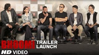 Bhoomi Trailer Launch Event | Sanjay Dutt  | Aditi Rao Hydari