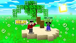 SURVIVING ON A WASTELAND FOR 24 HOURS IN MINECRAFT!