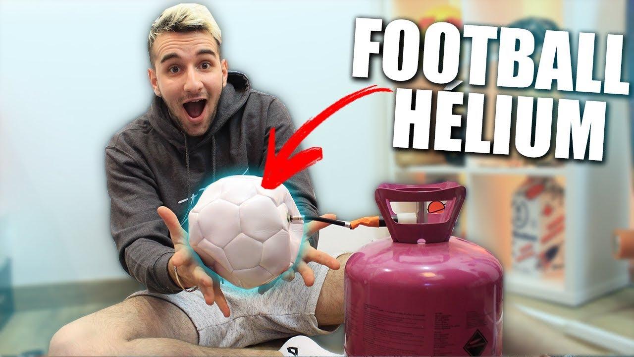 Gonfler un ballon de foot l 39 h lium youtube - Gonfler ballon sans helium ...