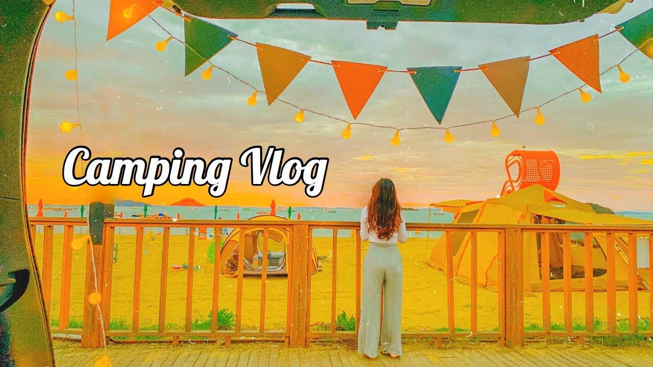 [camping vlog] Trend CẮM TRẠI TRONG XE Ô TÔ Ở HÀN QUỐC   THU HOẠCH BLUEBERRY & BẮP   Jandi Dao
