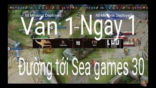 Highlight Team Flash - Fap TV ván 1 ngày 1 Đường tới Sea games 30