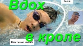 Дыхание в кроле на груди| Практика| КАК НАУЧИТЬСЯ ПРАВИЛЬНО ПЛАВАТЬ| How to learn to swim