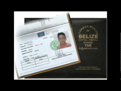 Belize continuous discharge certificate