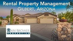 Property Management Companies Gilbert AZ | Mark Brower Properties | Rental Property Management