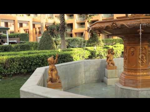 Water fountain Cairo Marriott Hotel_4753