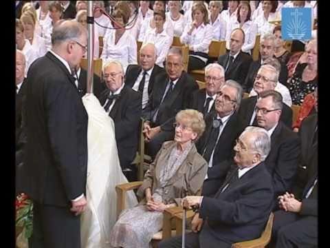 Goldene Hochzeit Von Stammapostel Ir Richard Fehr Und Seiner Frau Sonja